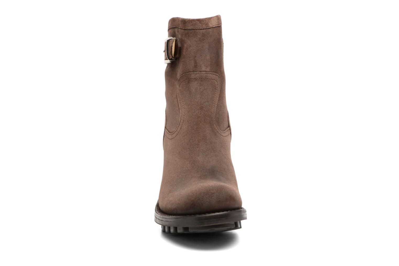 Bottines et boots Free Lance Justy 7 little cavalière Marron vue portées chaussures