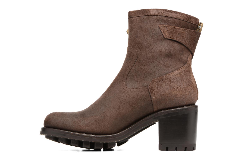 Bottines et boots Free Lance Justy 7 little cavalière Marron vue face