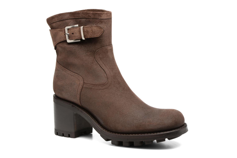 Bottines et boots Free Lance Justy 7 little cavalière Marron vue détail/paire