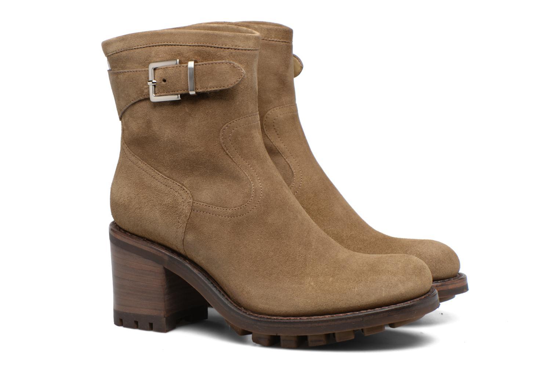 Bottines et boots Free Lance Justy 7 little cavalière Beige vue 3/4