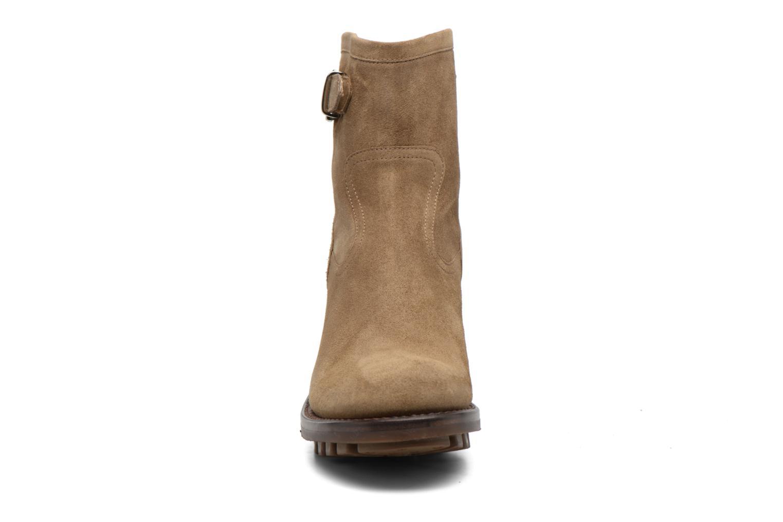 Bottines et boots Free Lance Justy 7 little cavalière Beige vue portées chaussures