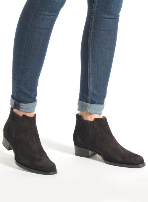 Bottines et boots Free Lance Legend 4 boot elast Marron vue bas / vue portée sac