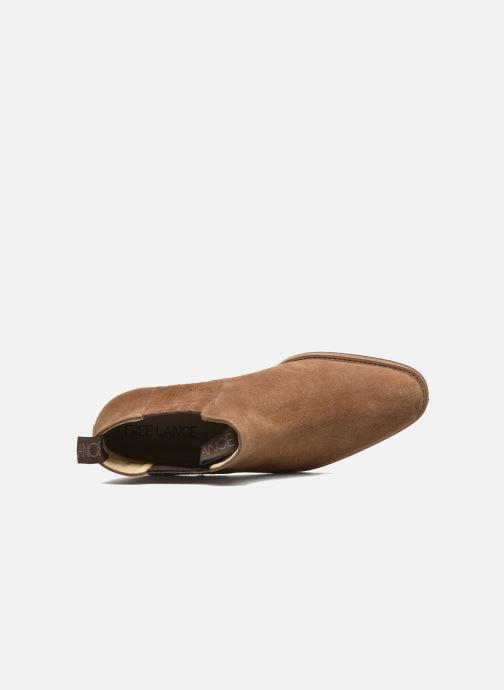 Boots en enkellaarsjes Free Lance Legend 4 boot elast Bruin links