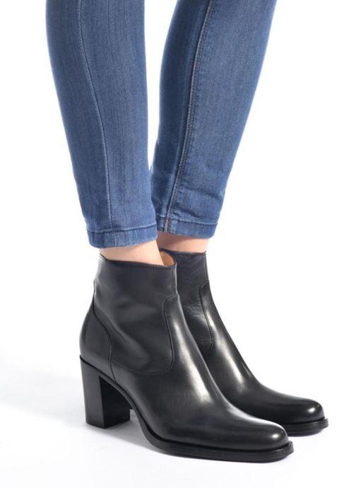 Stiefeletten & Boots Free Lance Legend 7 Zip Boot schwarz ansicht von unten / tasche getragen