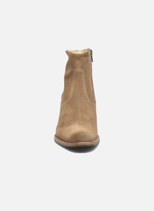 Stiefeletten & Boots Free Lance Legend 7 Zip Boot braun schuhe getragen