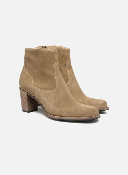 Ankle boots Free Lance Legend 7 Zip Boot Beige 3/4 view