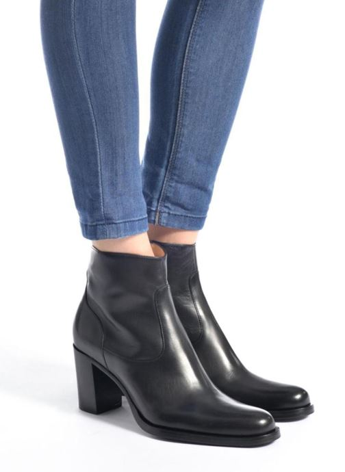 Ankle boots Free Lance Legend 7 Zip Boot Beige view from underneath / model view