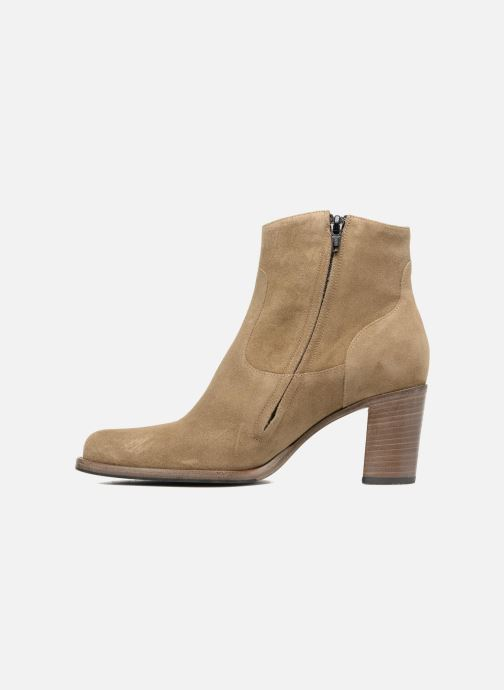 Ankle boots Free Lance Legend 7 Zip Boot Beige front view