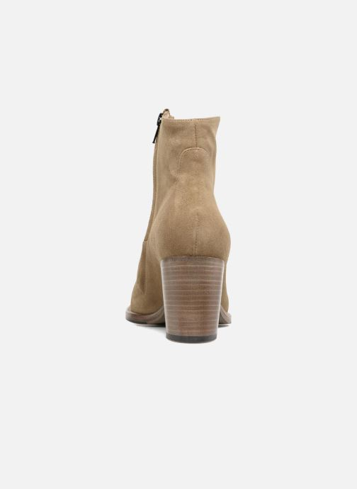Ankle boots Free Lance Legend 7 Zip Boot Beige view from the right
