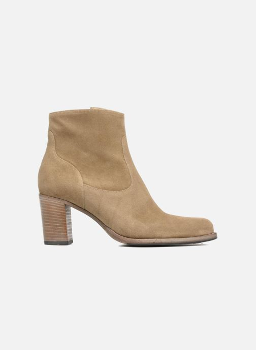 Ankle boots Free Lance Legend 7 Zip Boot Beige back view