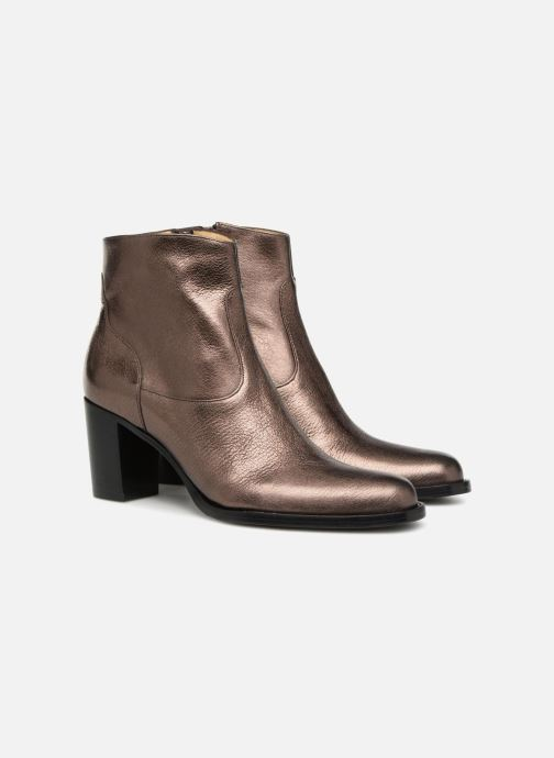 Ankle boots Free Lance Legend 7 Zip Boot Bronze and Gold 3/4 view