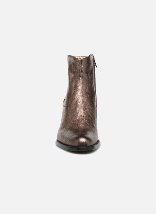 Bottines et boots Free Lance Legend 7 Zip Boot Or et bronze vue portées chaussures