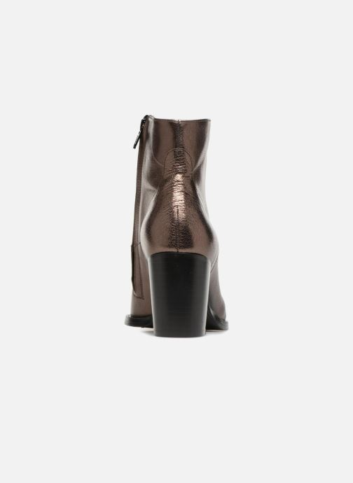 Ankle boots Free Lance Legend 7 Zip Boot Bronze and Gold view from the right