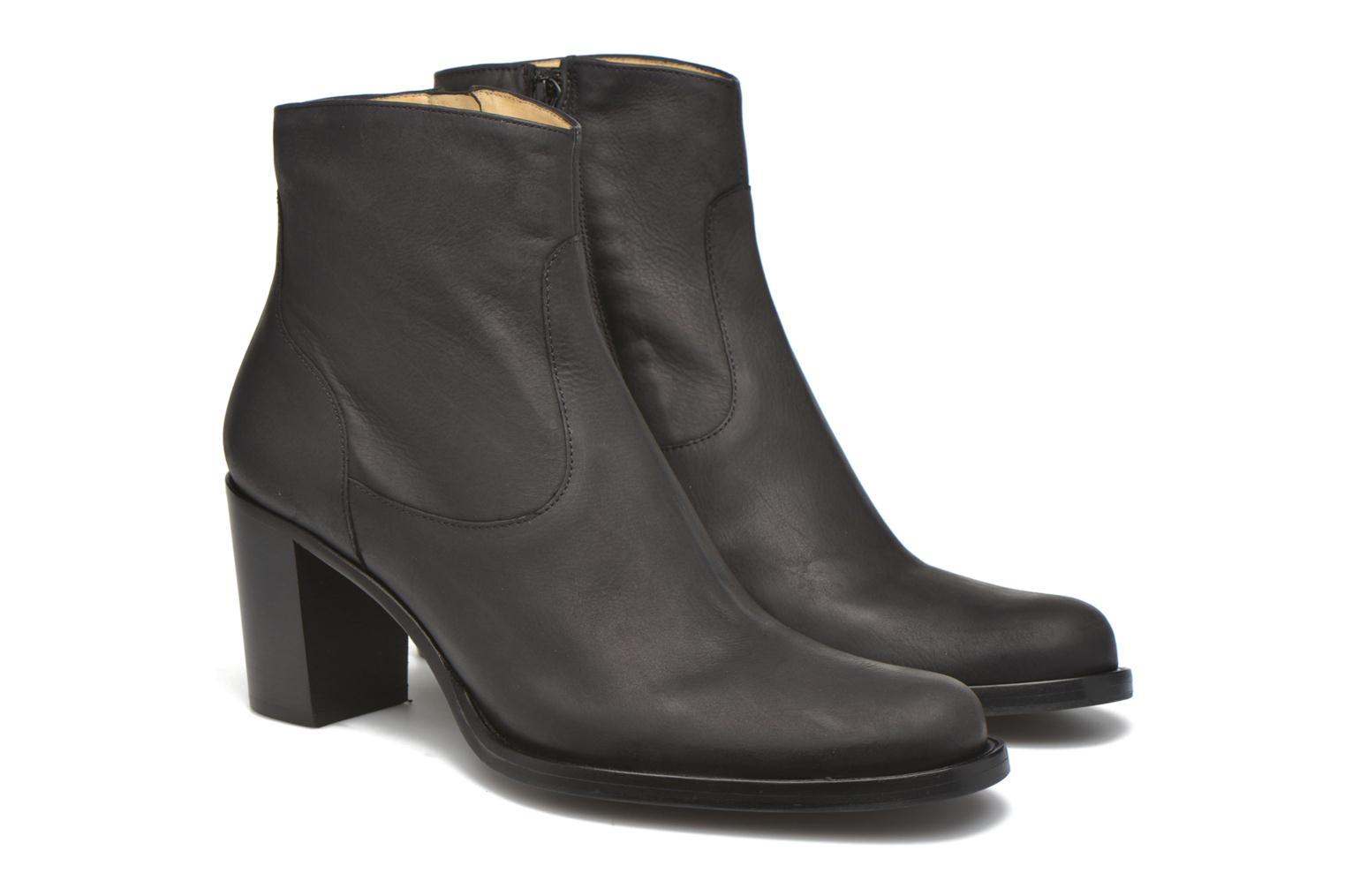 Bottines et boots Free Lance Legend 7 Zip Boot Noir vue 3/4