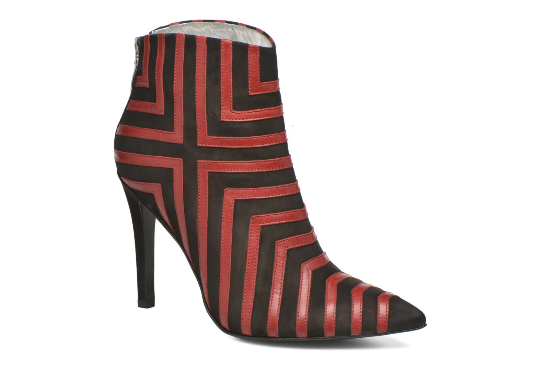 Bottines et boots Free Lance Itlys 9 bootmulstray Rouge vue détail/paire