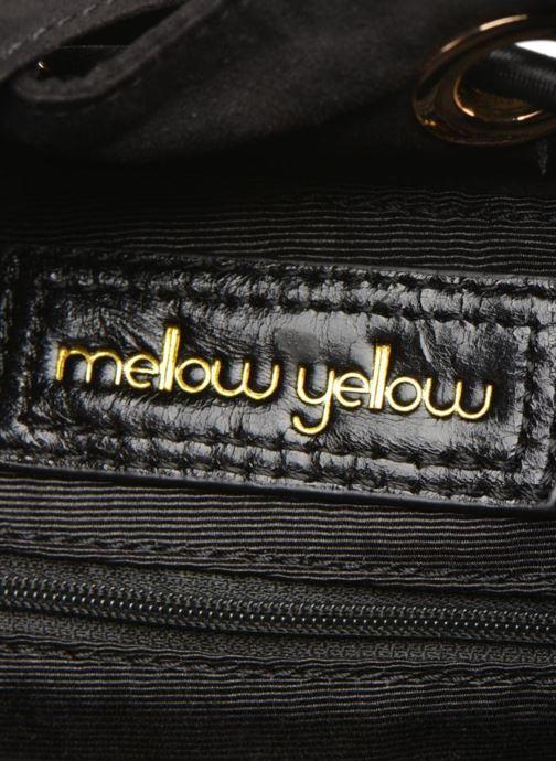 Handtassen Mellow Yellow AMBER Sac seau imprimé python Zwart achterkant
