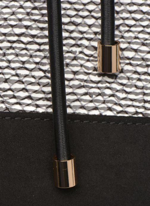 Bolsos de mano Mellow Yellow AMBER Sac seau imprimé python Negro vista lateral izquierda