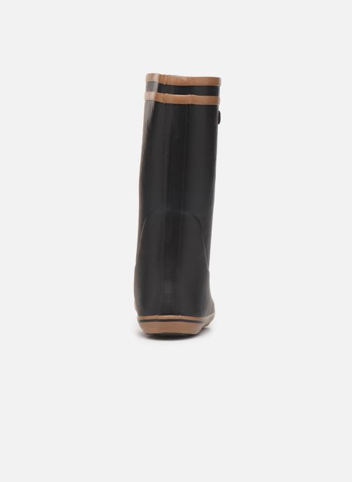 Bottes Aigle Malouine Fur Noir vue droite