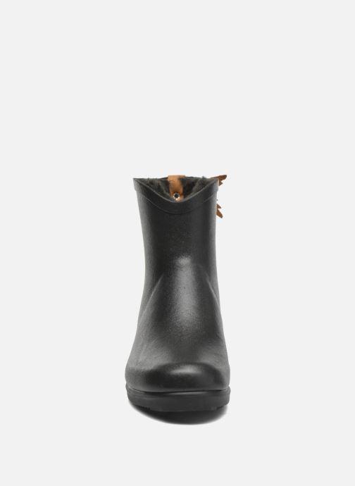 Bottines et boots Aigle Miss Juliette Botillon Fur Noir vue portées chaussures