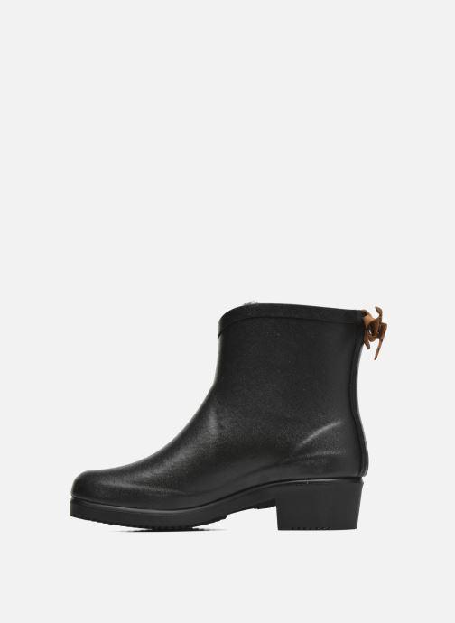 Boots en enkellaarsjes Aigle Miss Juliette Botillon Fur Zwart voorkant