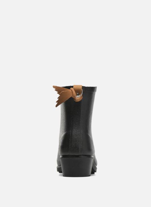 Bottines et boots Aigle Miss Juliette Botillon Fur Noir vue droite