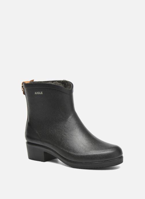 8cbfaf3b7cd Bottines et boots Aigle Miss Juliette Botillon Fur Noir vue détail paire