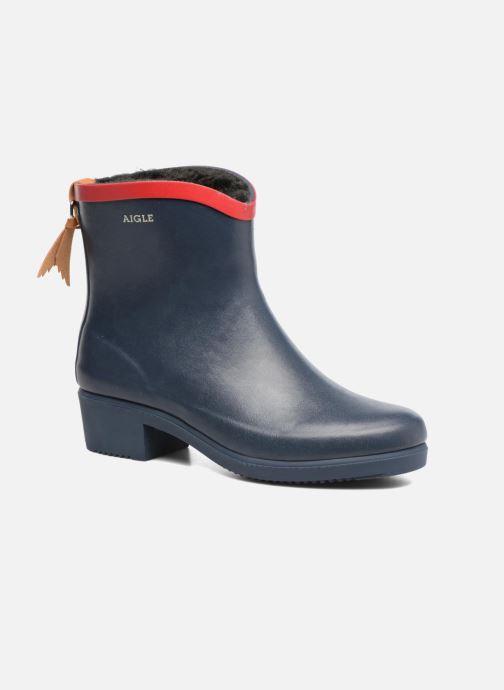 Boots en enkellaarsjes Aigle Miss Juliette Botillon Fur Blauw detail