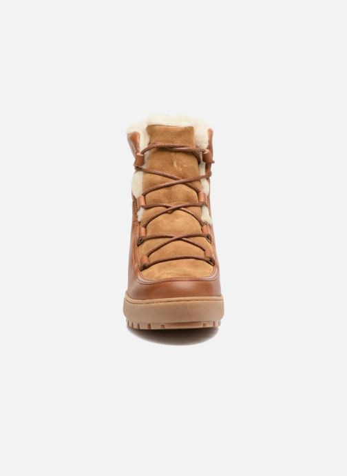 Ankle boots Aigle Laponwarm Brown model view