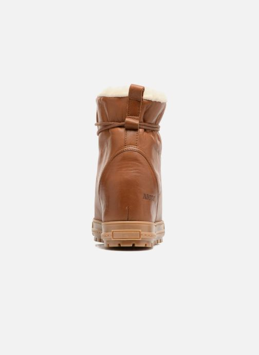 Ankle boots Aigle Laponwarm Brown view from the right