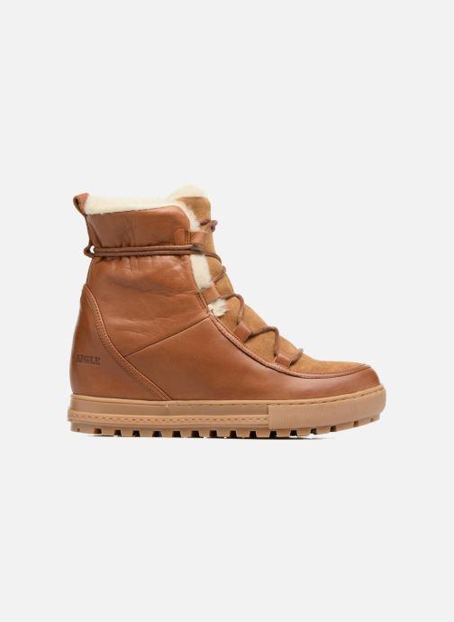 Ankle boots Aigle Laponwarm Brown back view