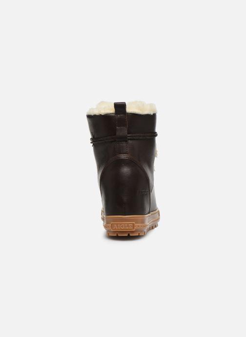 Bottines et boots Aigle Laponwarm Marron vue droite