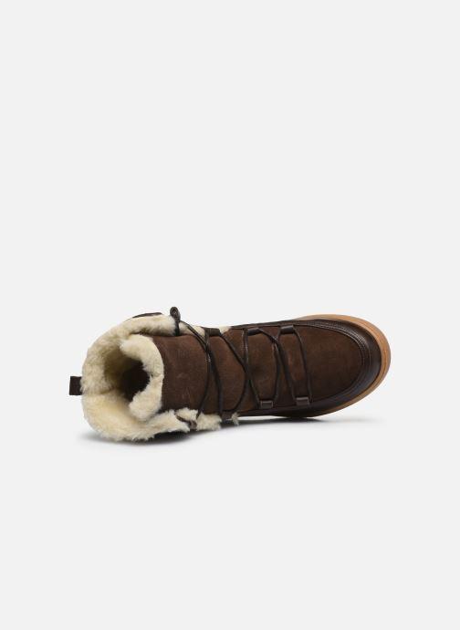 Bottines et boots Aigle Laponwarm Marron vue gauche