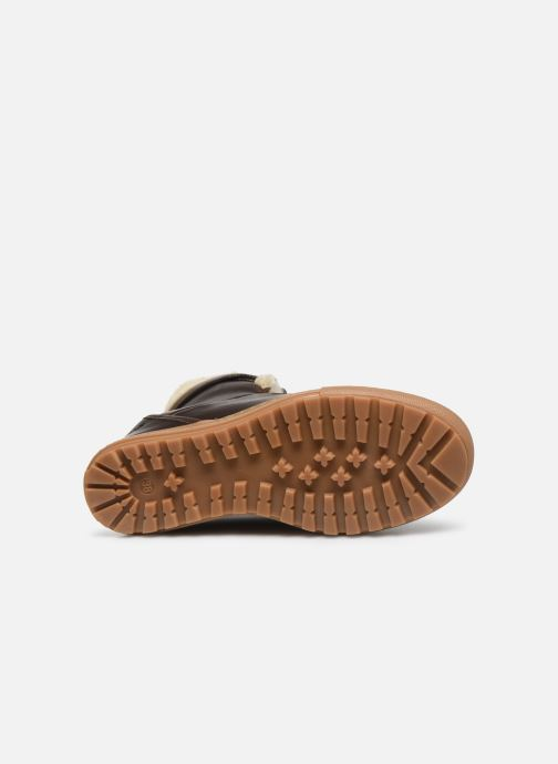 Bottines et boots Aigle Laponwarm Marron vue haut