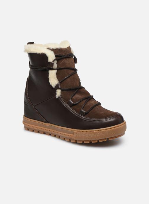 Bottines et boots Aigle Laponwarm Marron vue détail/paire