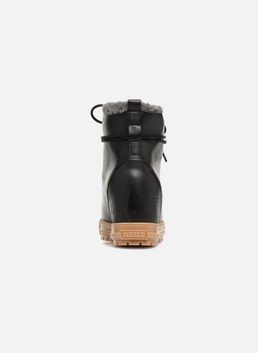 Boots en enkellaarsjes Aigle Laponwarm Zwart rechts