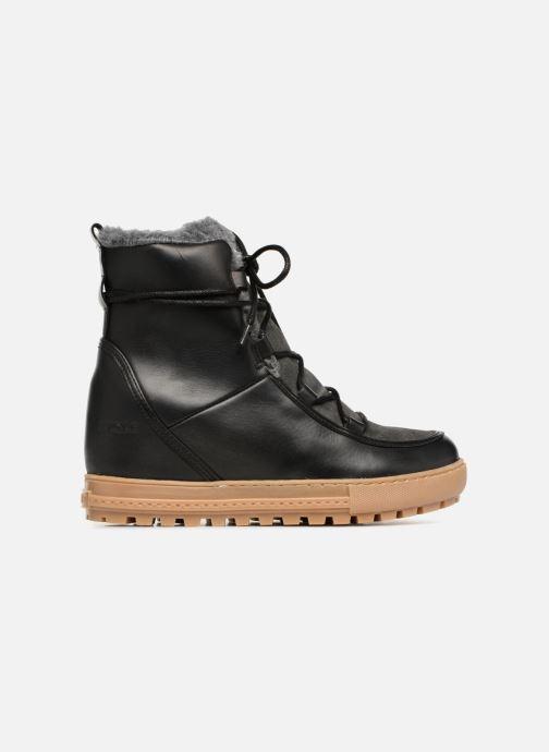 Boots en enkellaarsjes Aigle Laponwarm Zwart achterkant