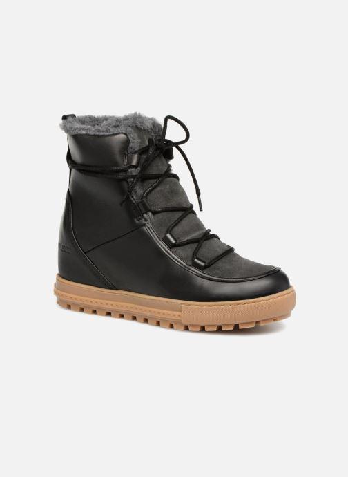 Boots en enkellaarsjes Aigle Laponwarm Zwart detail