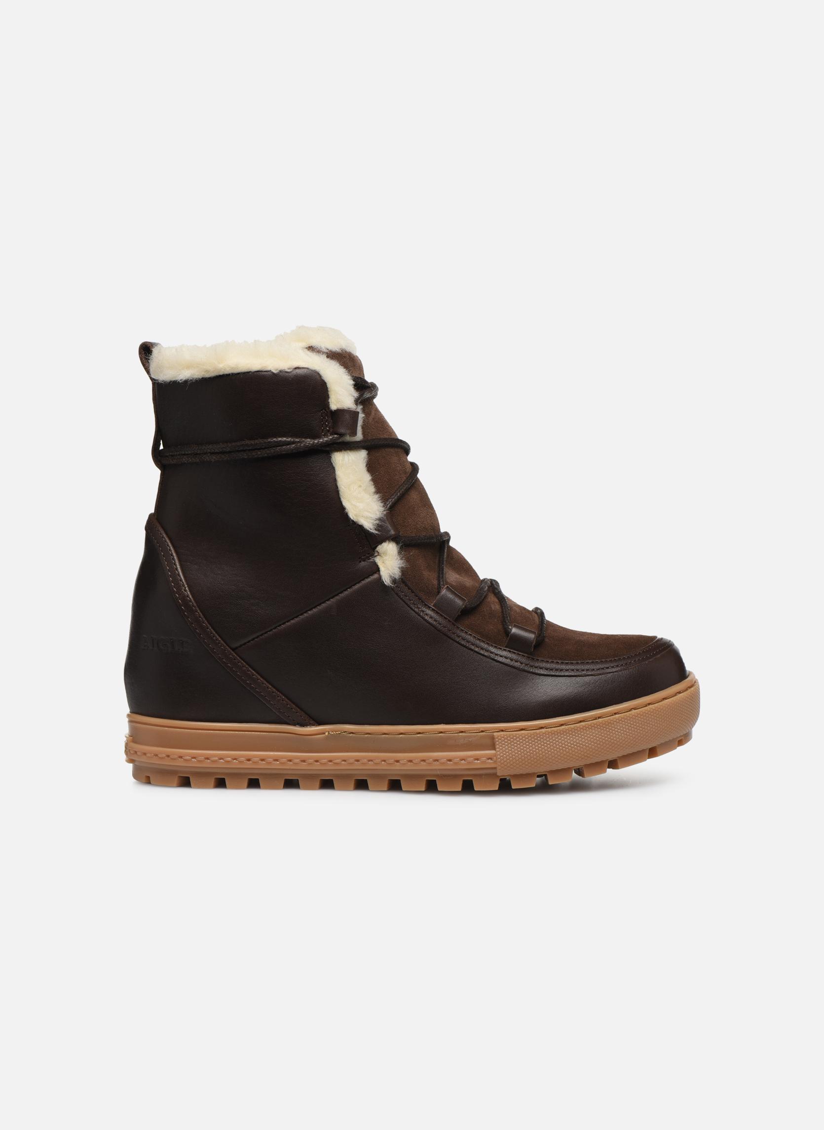 Bottines et boots Aigle Laponwarm Marron vue derrière