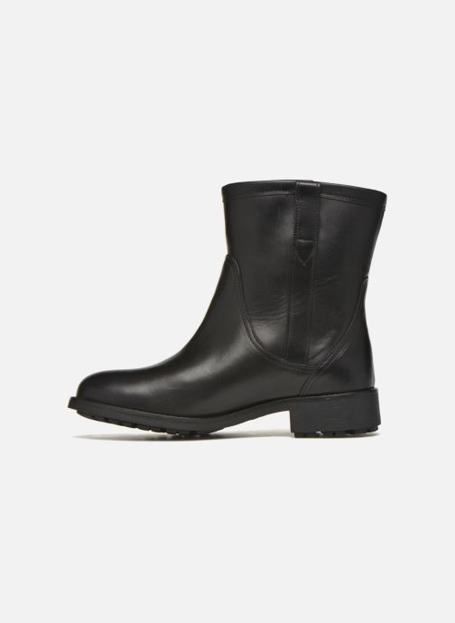 Bottines et boots Aigle Chanteside Low Noir vue face