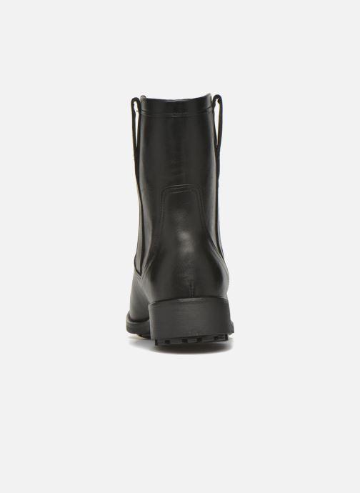 Bottines et boots Aigle Chanteside Low Noir vue droite