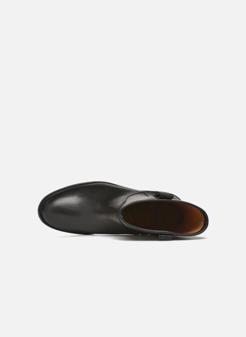 Bottines et boots Aigle Chanteside Low Noir vue gauche