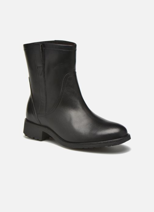 Bottines et boots Aigle Chanteside Low Noir vue détail/paire