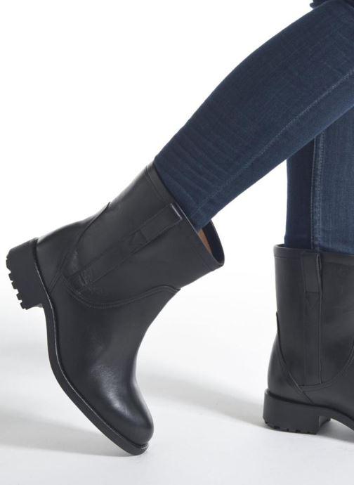 Bottines et boots Aigle Chanteside Low Marron vue bas / vue portée sac