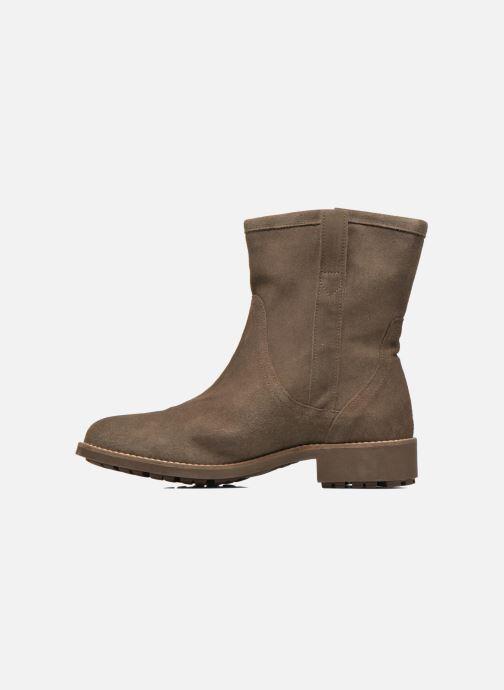 Bottines et boots Aigle Chanteside Low Marron vue face
