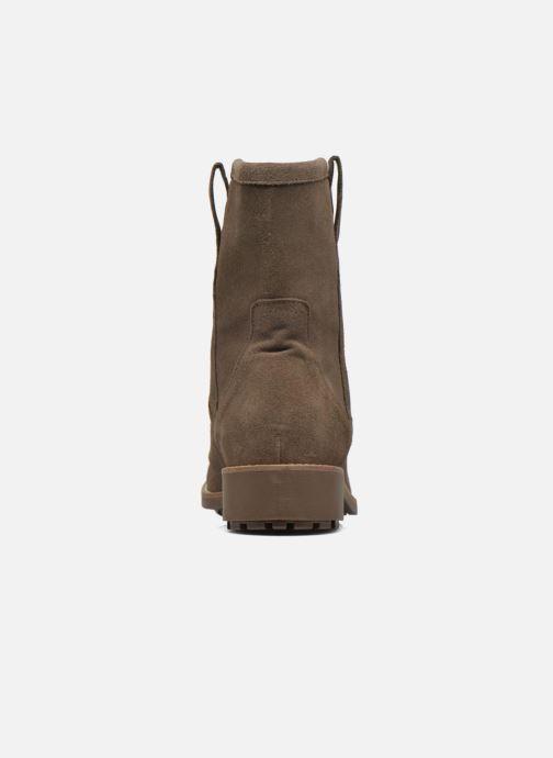 Bottines et boots Aigle Chanteside Low Marron vue droite