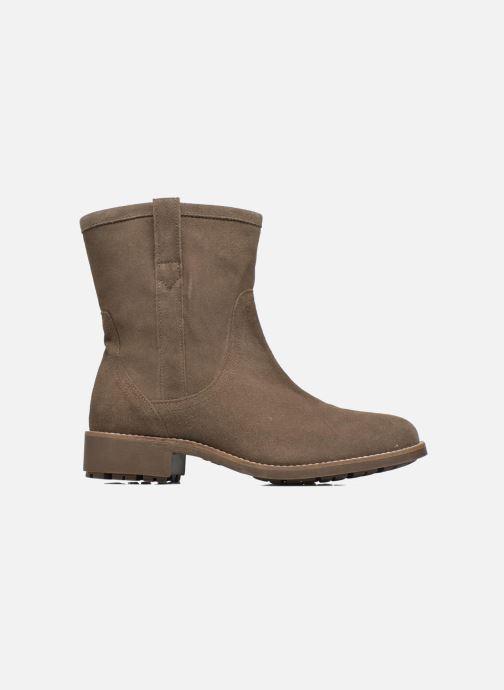 Bottines et boots Aigle Chanteside Low Marron vue derrière