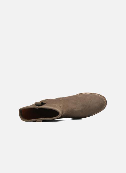 Bottines et boots Aigle Chanteside Low Marron vue gauche