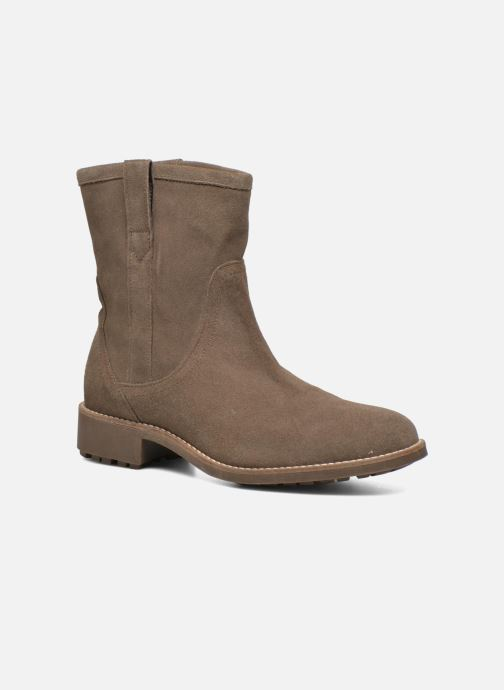 Bottines et boots Aigle Chanteside Low Marron vue détail/paire