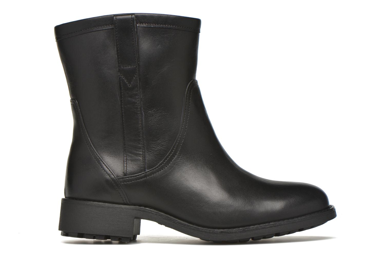 Ankle boots Aigle Chanteside Low Black back view