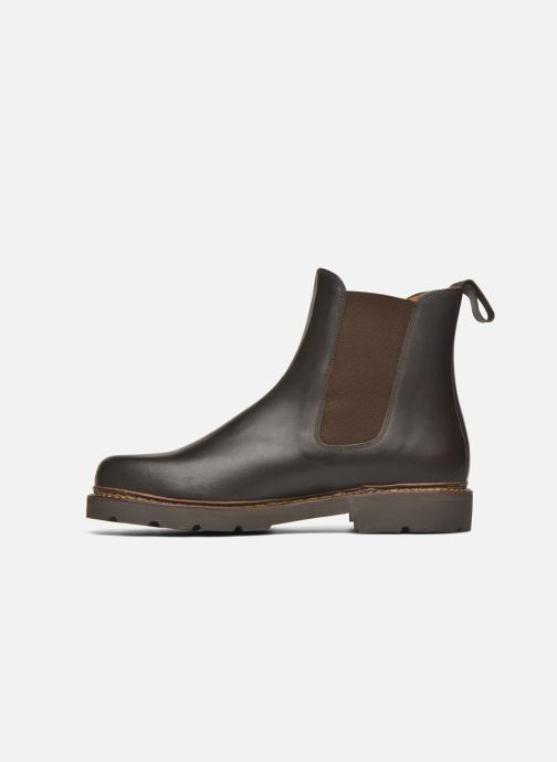 Bottines et boots Aigle Quercy Marron vue face